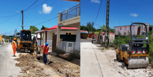 Rénovation des trottoirs